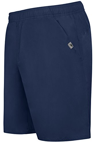 interior Correr Azul para 4 oscuro con cortos Deporte f hombres en gimnasia malla de Skmf001 Ocio Pantalones deslizamiento Bermudas rPPT0qwZx