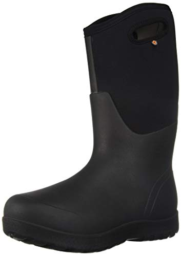 BOGS Women's NEO-Classic Snow Boot, Tall Black, 9 Medium US (Ladies Snow Boots Size 9 Wide)