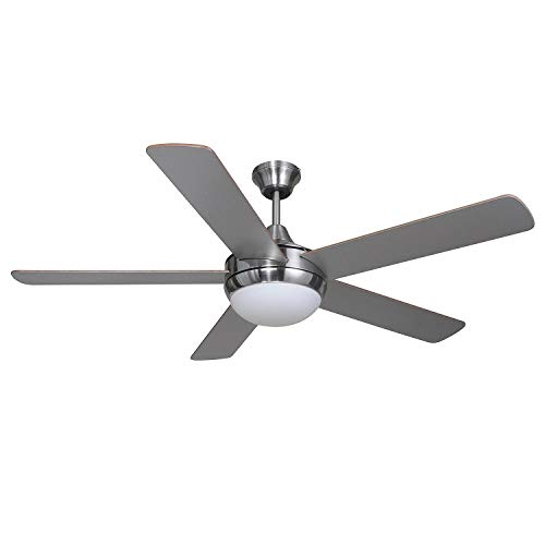 Hardware House 207164 Ceiling Fan, Satin Nickel finish