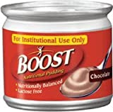 Boost Nutritional Chocolate Flavor Ready to Use Pudding 5 oz. Can [Pack of 4]