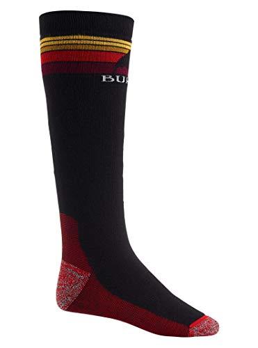 Burton Men's Emblem Midweight Sock, True Black, Large