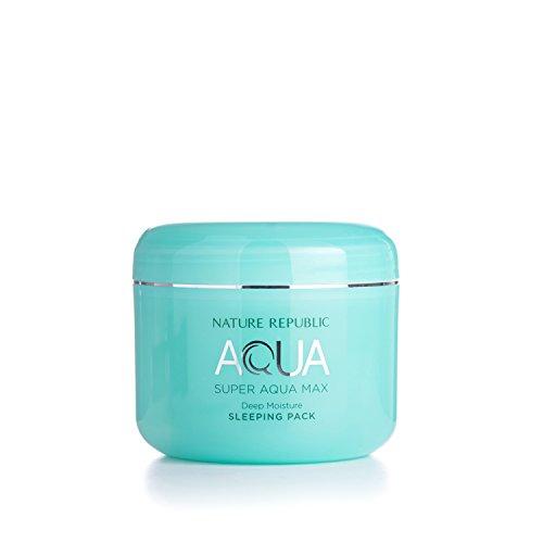 - Nature Republic Super Aqua Max Deep Moisture Sleeping Pack, 100 Gram