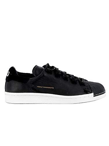Adidas Y-3 Yohji Yamamoto Women's Cg6082 Black Leather Sneakers