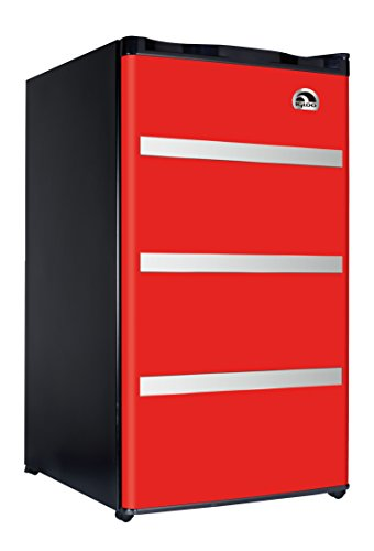 Igloo FR329 Red Garage Fridge Cubic