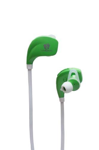 life n soul b106 g bluetooth sport earphones green. Black Bedroom Furniture Sets. Home Design Ideas