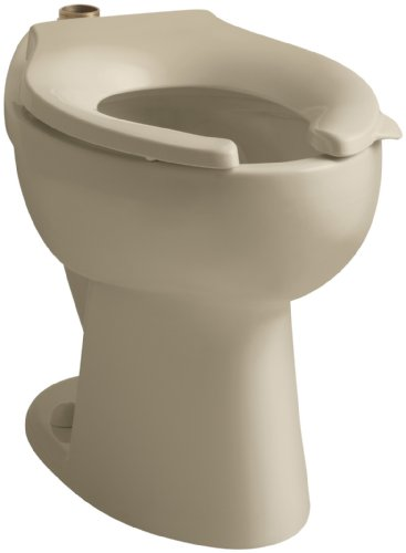 Kohler K-4302-33 Highcrest Elongated Toilet Bowl with Top Sp