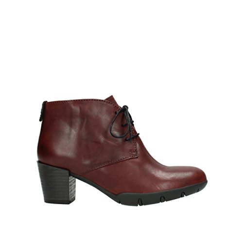 Bordeaux Bighorn 30512 Bottes Wolky Comfort Cuir vq8HwH