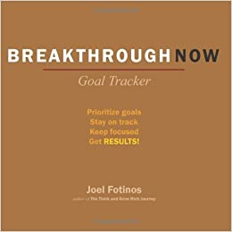 buy breakthrough now goal tracker prioritize goals stay on track