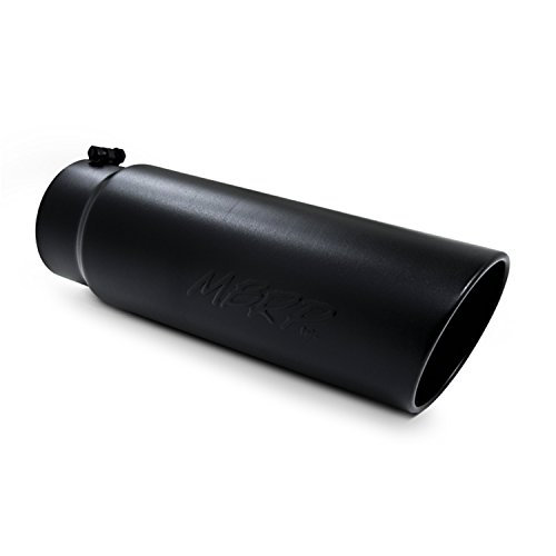 MBRP Exhaust T5125BLK Exhaust Tail Pipe Tip: