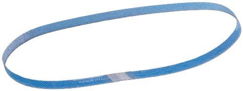 (Norton BlueFire R823P File Abrasive Belt, Waterproof, Polyester Backing, Zirconia Alumina, 1/2