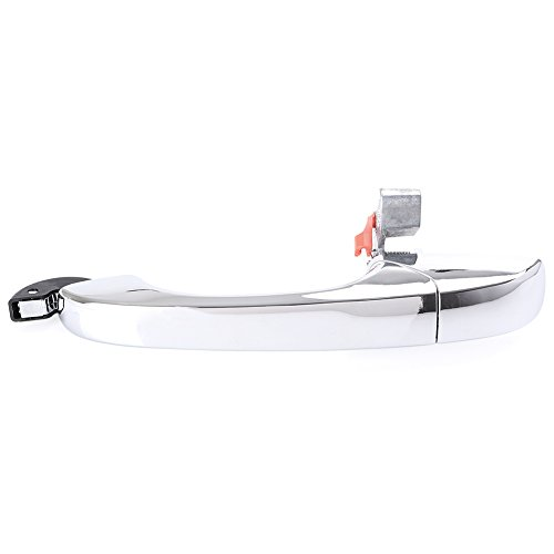 Mallofusa Compatible for Chrysler 300 C 2005-2010 & Dodge Magnum 2005-2008 Charger 2007 Chrome Outer Door Handle Rear Left