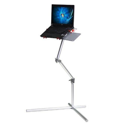 Koolertron New Silver Aluminum Nottable Laptop Universal 360