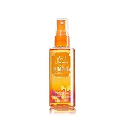 Bath and Body Works Sweet Cinnamon Pumpkin Mist Travel Size 3 oz by Bath & Body Works