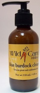 Синие лопуха Cleanser дикой моркови Herbals 4 унции жидкие