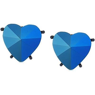 cheap Betsey Johnson Butterfly Heart Clip-On Earrings supplies