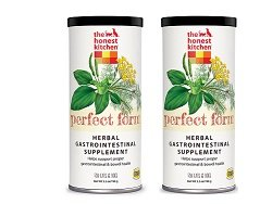 (2 Pack) The Honest Kitchen Perfect Form Supplement - Natural Human Grade Digestive Supplement for Dogs & Cats, 5.5 Ounces each