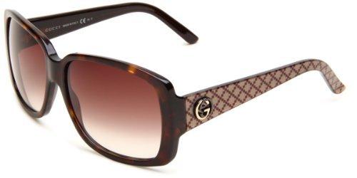 Gucci Women's GUCCI 3161/S Rectangular Sunglasses