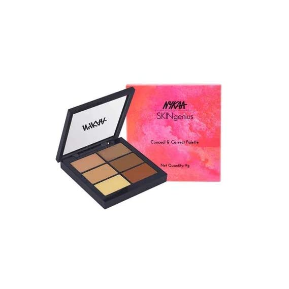 Nykaa Conceal and Correct Palette (Light 01)