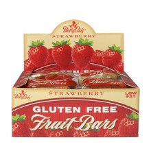 BETTY LOU'S FRUIT BAR,STRAWBERRY,WF, 2 OZ CASE_12