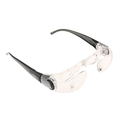 MonkeyJack 2.1X TV Glasses Distance Viewing Hyperopia Magnifying TV - Bridge Distance Glasses