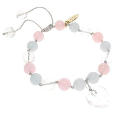 Lola Rose Iola Bracelet Ice Blue Quartzite kKHrW6Day