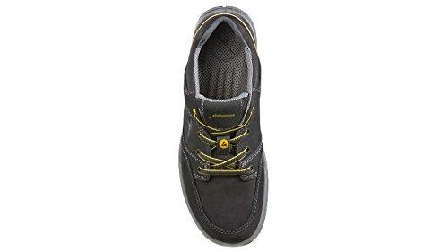 ALBATROS Sicherheitsschuh 43, gelb, schwarz
