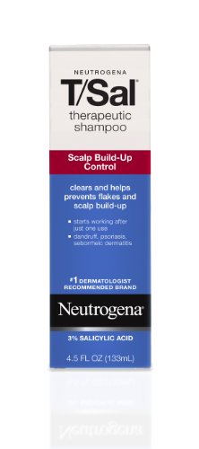 Neutrogena T/Sal Therapeutic Shampoo, Scalp Build-Up Control 4.5 oz
