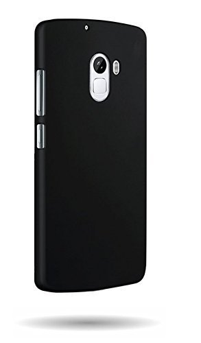 new product 49d63 adf11 WOW Imagine™ Rubberised Matte Hard Case Back Cover for Lenovo K4 Note -  Black