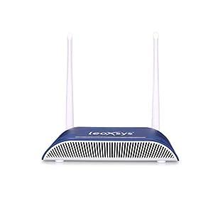 LEOXSYS LEO-300N-F3-ONU WiFi 300M Gigabit XPON GEPON/EPON Modem Wireless Fiber Router with Voice Support 1GE,1FE,1POTS…