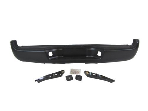 OE Replacement Toyota Tacoma Rear Bumper Assembly (Partslink Number TO1103114)