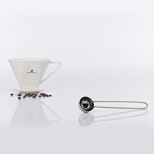 Westmark Coffee-Measure-Spoon Stainless Steel For 8 Gr, 7.5 x 1.5 x 0.9 inches