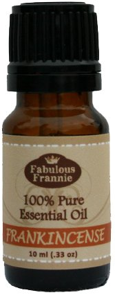 FRANKINCENSE 100% Pure, Undiluted Essential Oil Therapeutic Grade - 10 ml. Great for Aromatherapy!