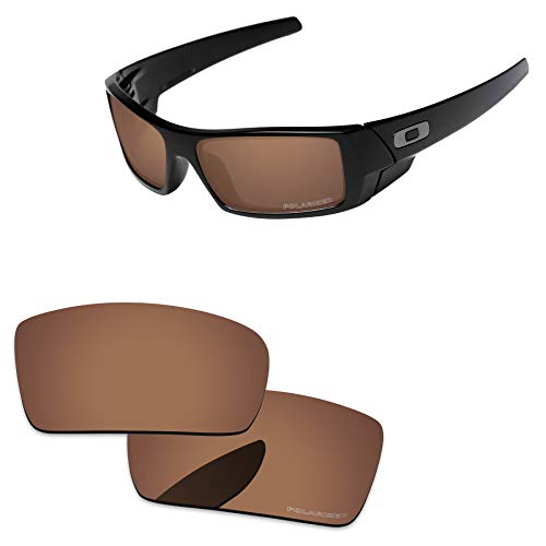 (PapaViva Lenses Replacement for Oakley Gascan Copper Brown -)