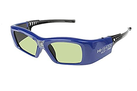 5656e96371 Hi Shock C Type DLP Link Active 3D Glasses for DLP 3D Projector Blue Adults