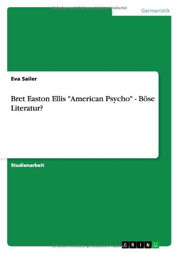"american psycho essay questions Free essay: entrails torn from the body with bare hands, eyes gouged out with   that ran rampant in the 80s leads us to ask the question ""when is enough,  enough  essay about american psycho: analysis of novel and movie  production."