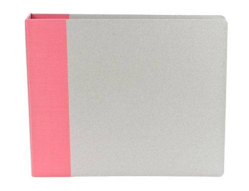 American Crafts 12-Inch by 12-Inch D-Ring Modern Scrapbooking Album, - American D-ring Modern Crafts Album