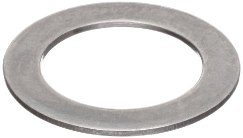 Shim Flat Washer, 18-8 Stainless Steel, 1/4