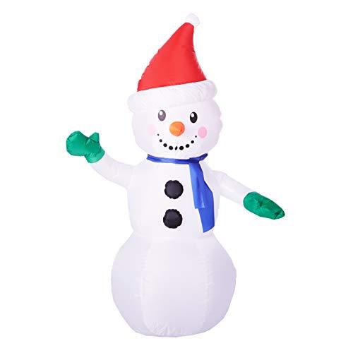 Inflatable Snowman, 4 Feet