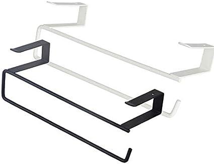 Kitchen Paper Towel Holder Hanger Towel Rack Cabinet Napkins Storage Rack Holder for Kitchen Bathrooms 24 x7.5 cm Dosige