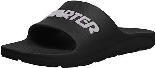 Starter Kidd Slide Mens Slip On Flip Flip Sandals Sliders CPE00020 White Navy