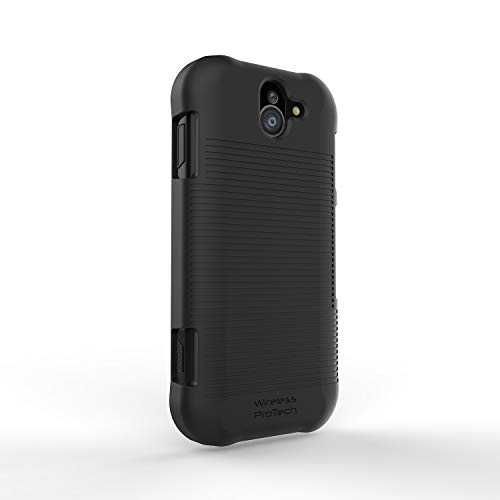 Wireless ProTECH Hard Rubberized Shell Cover Case for Kyocera DuraForce PRO 2 E6900 Series E6910 E6920 2 Rubberized Hard Case