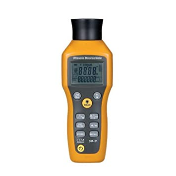 Portable Ultrasonic Distance Meter Measurement Range: Amazon
