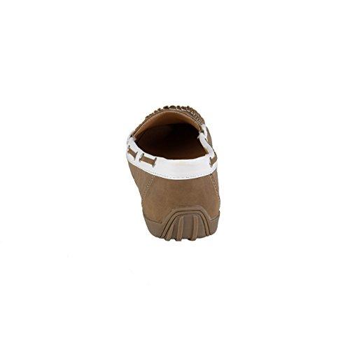 HSM Schuhmarketing - Mocasines de Material Sintético para mujer marrón marrón marrón