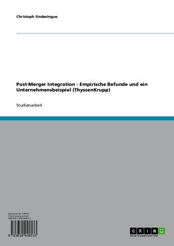 post-merger-integration-empirische-befunde-und-ein-unternehmensbeispiel-thyssenkrupp-german-edition
