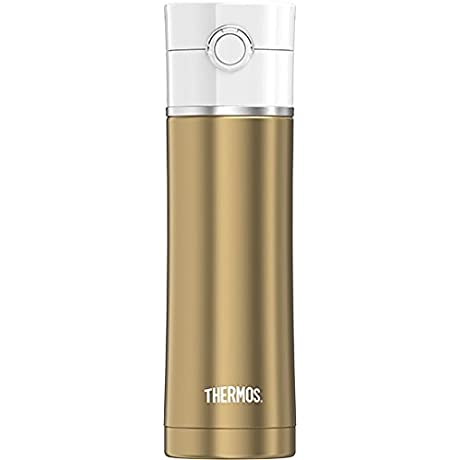 Thermos 16 Oz Sip Stainless Steel Drink Bottle Gold