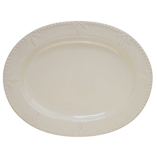 Signature Housewares 70730 Sorrento Collection Oval Platter, 14