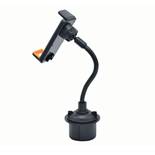 DEESEE(TM) NewCar Cell Phone Cup Holder Mount with Flexible Long Neck for iPhone GPS Wide