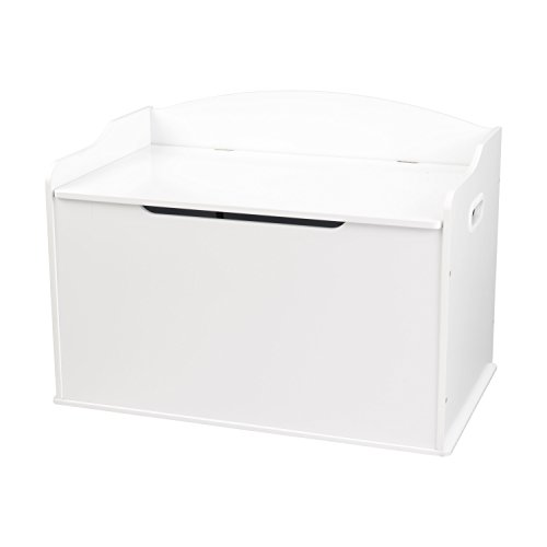 31wT1322ftL - KidKraft Austin Toy Box, White