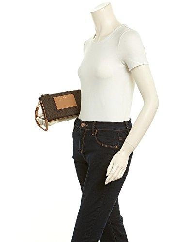 Michael Kors - Bolso cruzados de pvc para mujer marrón marrón