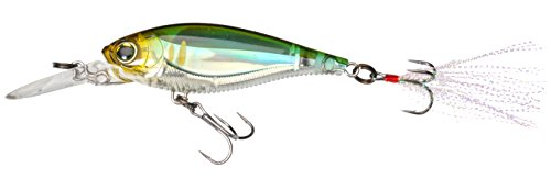 Yo-Zuri 3DB Shad Suspending Lure, Pearl Chartreuse Lime, 2-3/4-Inch